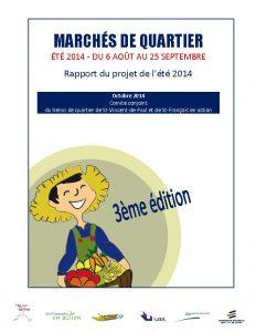 Rapport MQ Été 2014